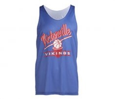 Mauve Jersey Style Basketball Singlet in UK and Australia