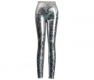 Metallic Silver Leggings in UK and Australia
