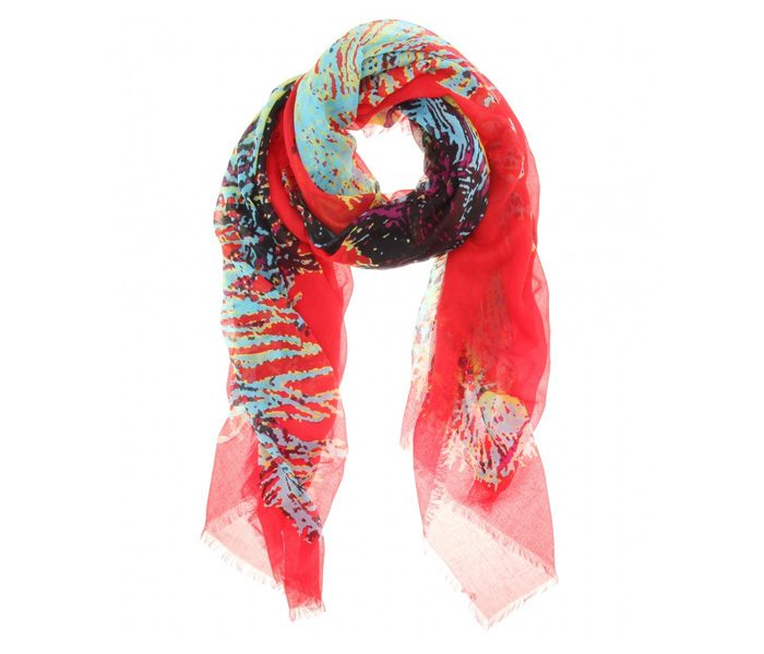 Multi-Colour Designer Printed Scarf in UK and Australia