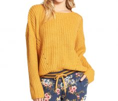 Mustard Yellow Relaxed Sweater in UK and Australia