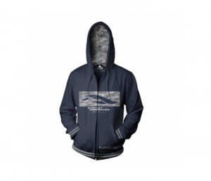 Navy Blue Hooded Jacket in UK and Australia
