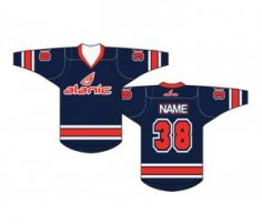 Navy Blue Ice Hockey Jersey in UK and Australia
