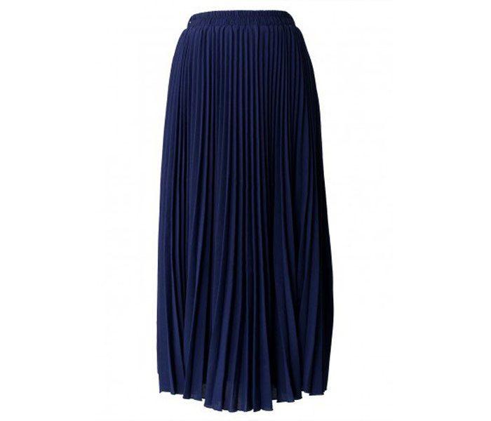 Navy Blue Long Skirt