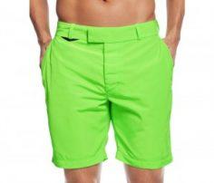 Neon Green Natty Beach Shorts in UK and Australia