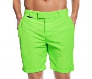 Neon Green Natty Beach Shorts in UK and Australia