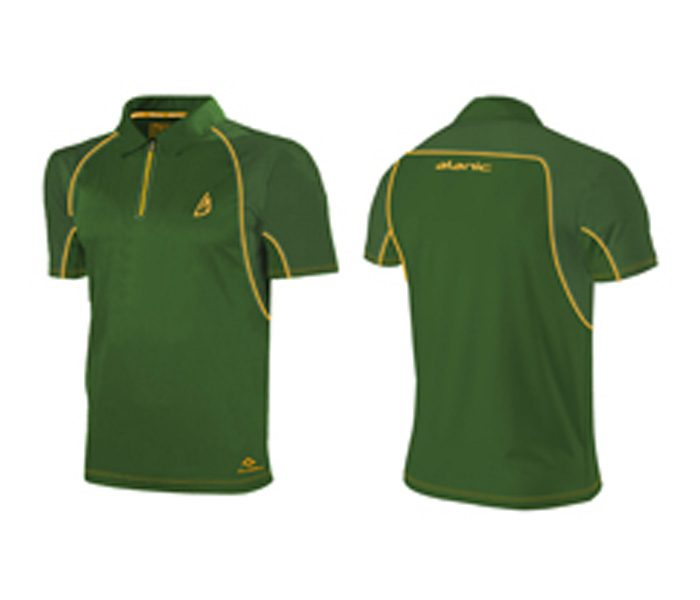 Olive Green Regal Cricket Tee in UK and Australia