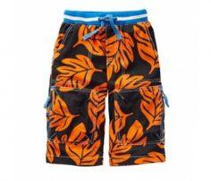 Orange Leaf Shorts in UK and Australia