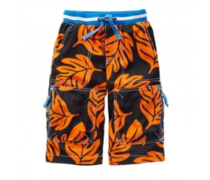 Orange Leaf Shorts in UK and Australia