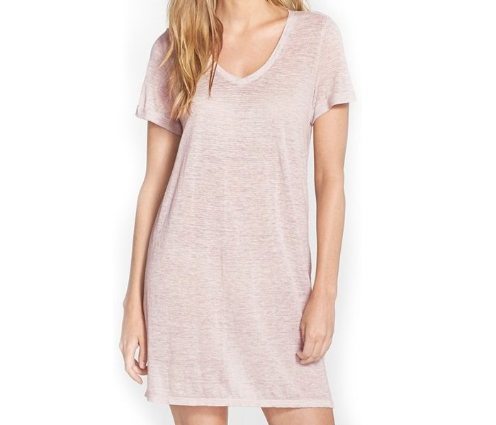 Pale White Tunic Sleepwear in UK and Australia