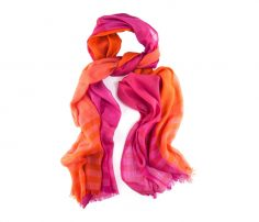 Pink and Orange Funky Scarf in UK and Australia