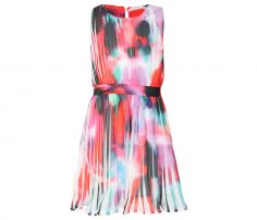 Pink Printed Frock in UK and Australia
