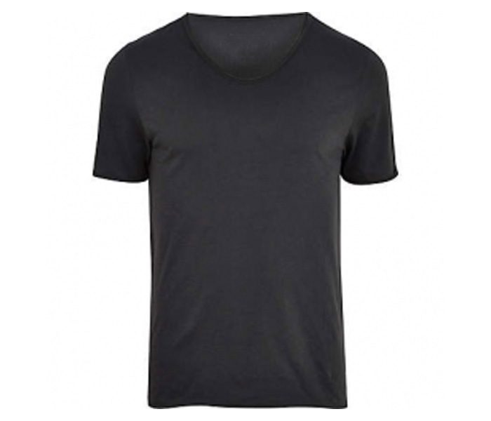 Plain Black Tee in UK and Australia