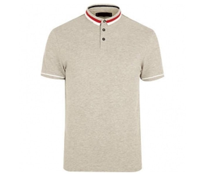 Plain Soft Tan Polo T Shirt in UK and Australia