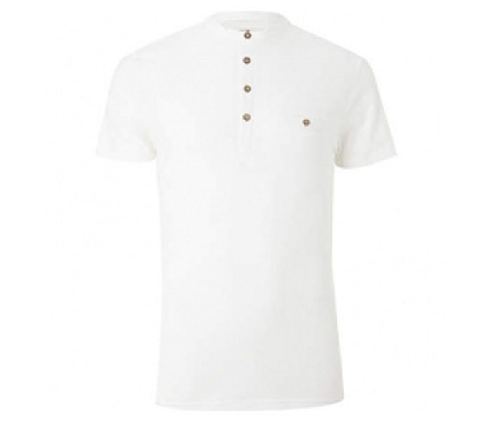 Plain White Polo T Shirt in UK and Australia