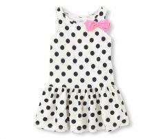 Polka Dotted Sleeveless Dress in UK and Australia