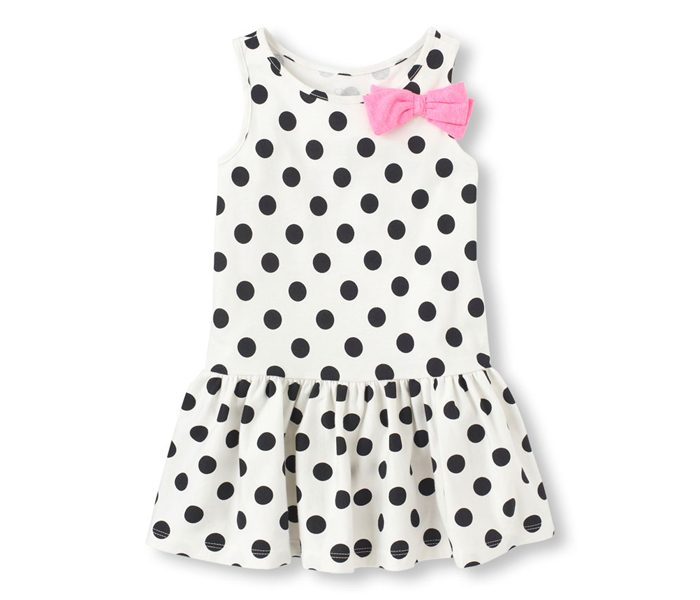 Polka Dotted Sleeveless Dress in UK and Australia