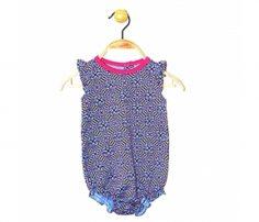 Printed baby bodysuit for girls in UK and Australia