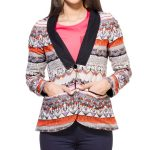 Printed Casual Coat in UK and Australia