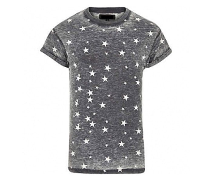 Pure Grey Print Tee in UK and Australia