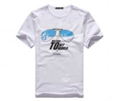 Pure White with Print Tee in UK and Australia