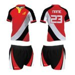 Red and Black Rugby Set in UK and Australia