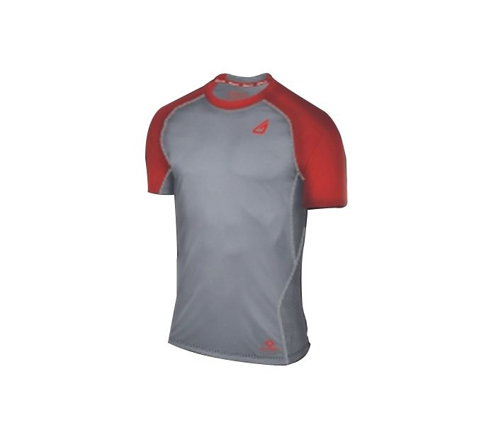 Red and Grey Baseball Compression Uniform in UK and Australia
