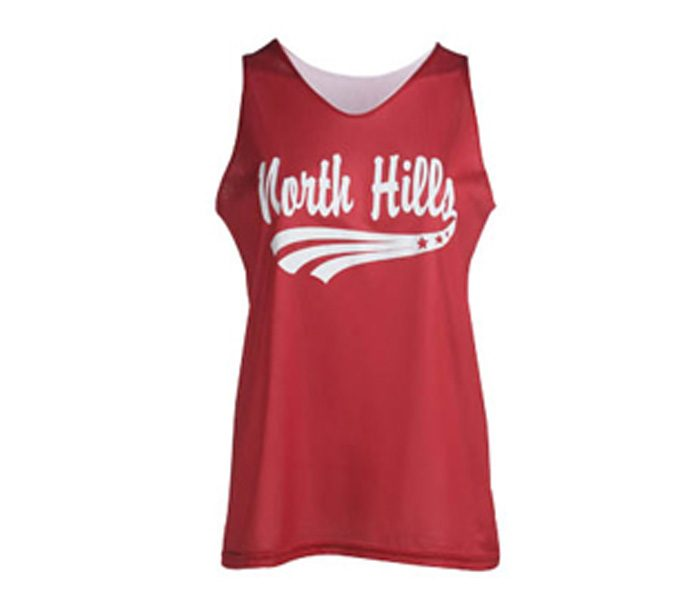 Red and Black Basketball Singlet in UK and Australia