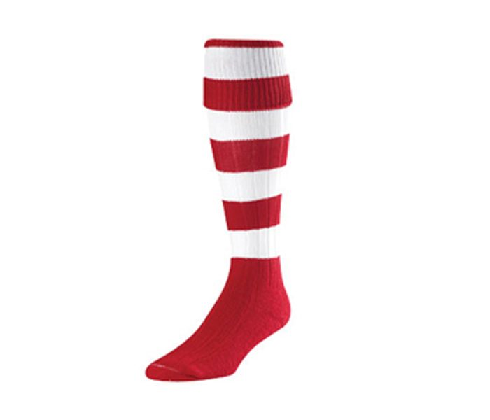 Red and White Woolen Socks in UK and Australia