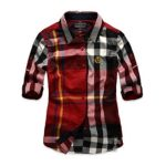 Red, Black and White Check Shirt in UK and Australia
