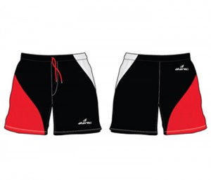 Red & Black Hockey Shorts in UK and Australia