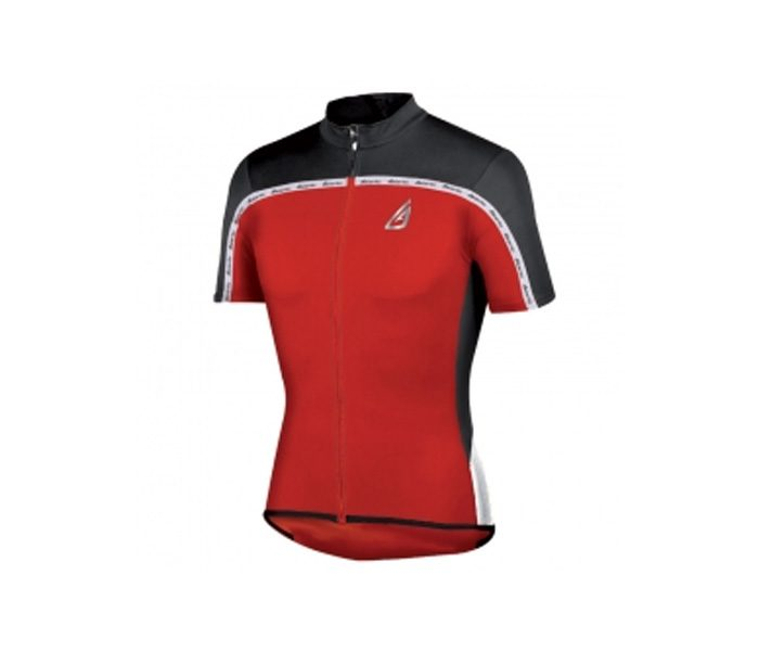 Red Compression Cycling Jersey in UK and Australia