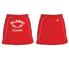 Red Lacrosse Women's Skirt in UK and Australia
