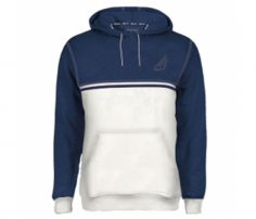 Royal Blue and White Designer Hoodie in UK and Australia