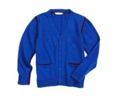 Wholesale Royal Blue Boys Cardigan in USA