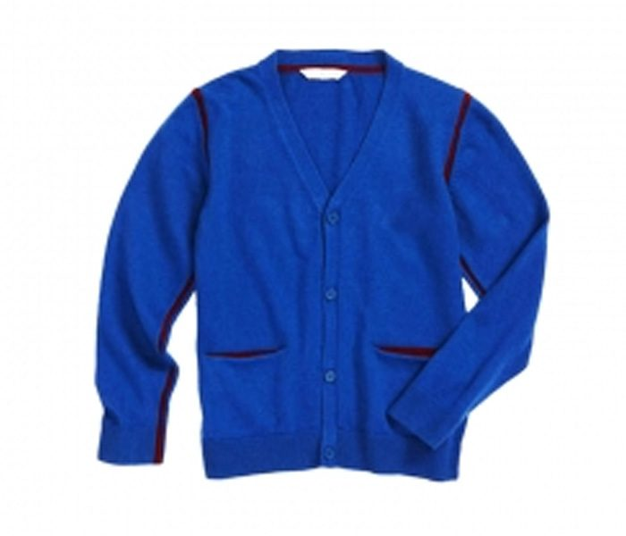 Wholesale Royal Blue Boys Cardigan in USA