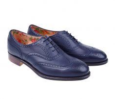 Royal Blue Brogue Shoes in UK and Australia