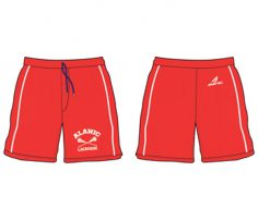 Scarlet Red Lacrosse Shorts in UK and Australia