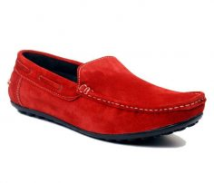 Scarlet Suede Men's Loafers in UK and Australia