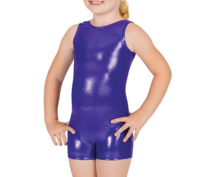 Shiny Purple Unitard in UK and Australia