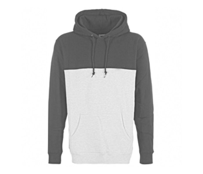 Simple Grey and White Marathon Hoodie in UK and Australia