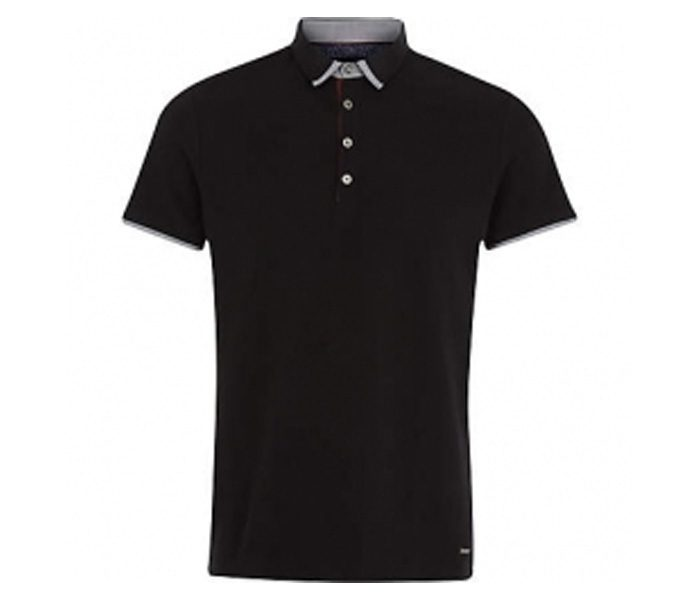 Simply Black designer collar Polo T shirt in UK and Australia