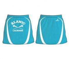 Sky Blue Lacrosse Skirt in UK and Australia