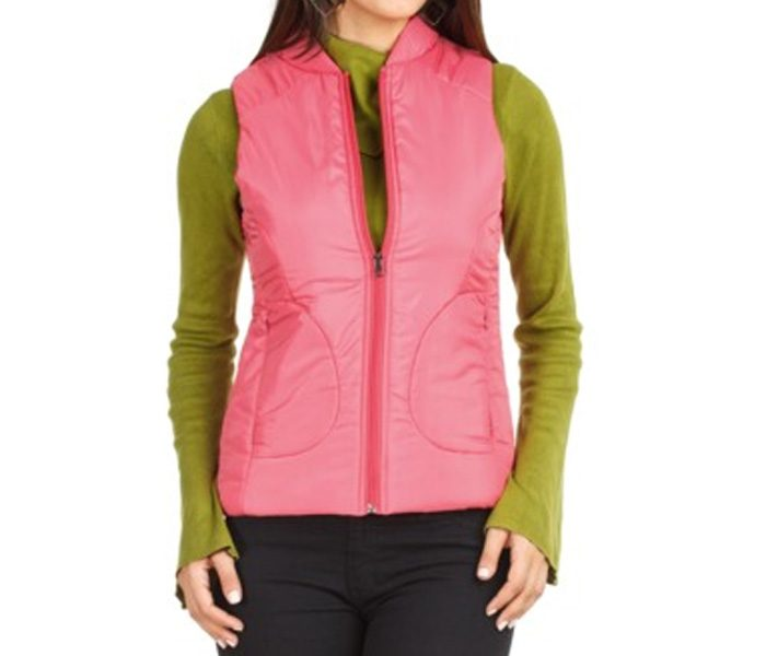 Sleeveless Pink Insulated Jacket in UK and Australia