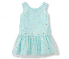 Sleeveless Star Glitter Dress in UK and Australia