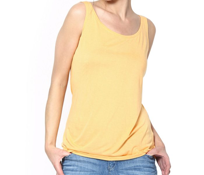 Sleeveless Yellow Top in UK and Australia