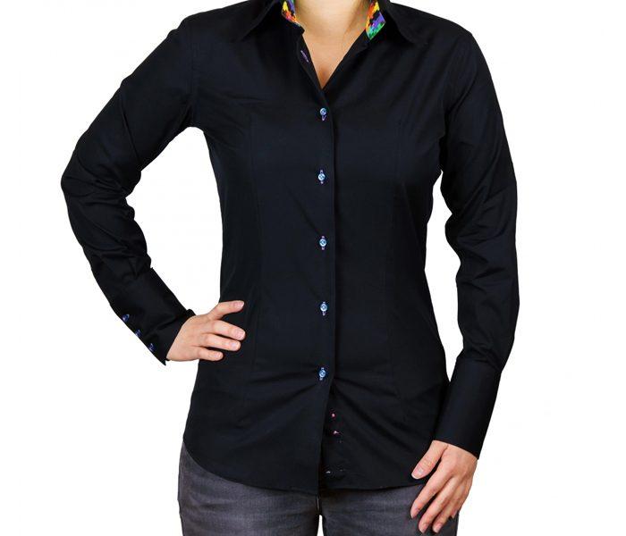 Slim Fit Black Shirt UK and Australia