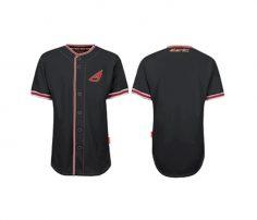 Smart Black Baseball Shirt in UK and Australia