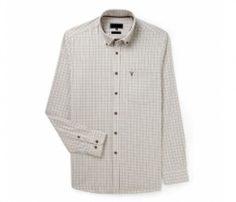Soft Beige Check Shirt in UK and Australia