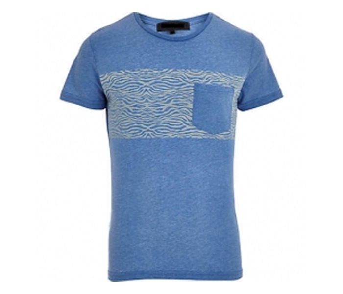 Soft Blue Designer Tee in UK and Australia