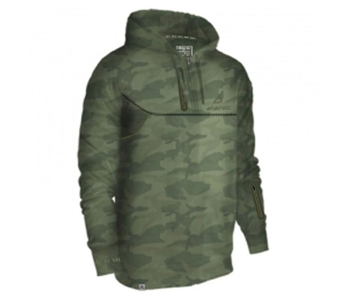 Soft Green Army Print Designer Hoodie in UK and Australia